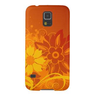 Flower Vectors Galaxy S5 Cases