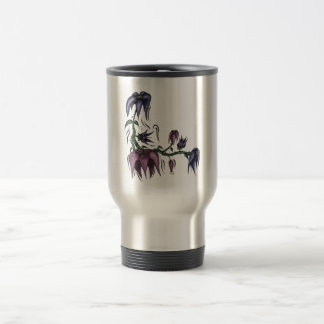 Flower Vine Travel Mug