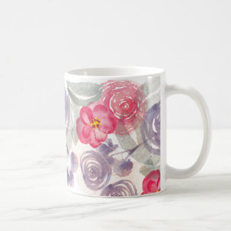 Flower Watercolor Mug