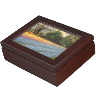 Flower Windmill Fine Art Triptych image 2 of 3 Keepsake Boxes