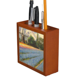 Flower Windmill Painting Pencil Holder