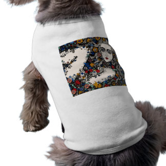 Flower Woman dog coat Shirt