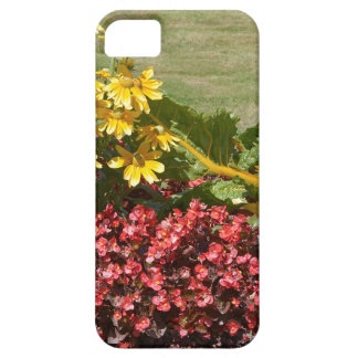 Flowerbed of coneflowers and begonias barely there iPhone 5 case