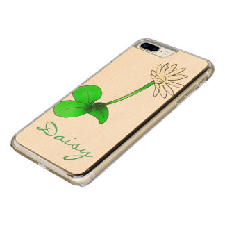 Flowerchain & Fresh Daisies by The Happy Juul Comp Carved iPhone 7 Plus Case