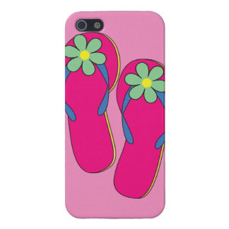 Flowered Flip Flops iPhone5 Case iPhone 5/5S Cases
