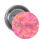 Flowergirl Button