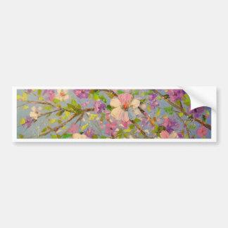 Flowering Apple Bumper Sticker
