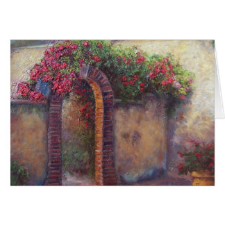 Flowering Archway Card