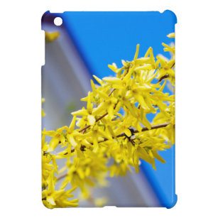 Flowering branch with yellow flowers case for the iPad mini