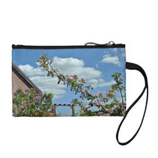 Flowering Branches Against Blue Sky Change Purses