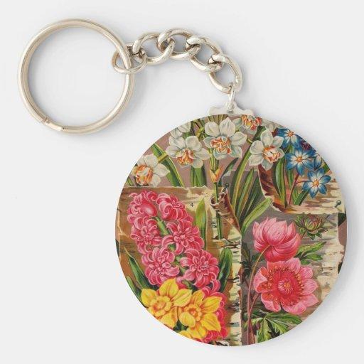 Flowering Bulbs Catalog Keychain