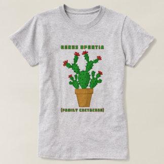 Flowering Cactus - Opuntia T-Shirt