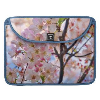 Flowering Cherry Blossom Tree Rickshaw Flap Sleeve Sleeves For MacBooks