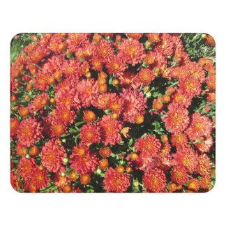Flowering Chrysanthemum Door Sign