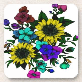 Flowering Drink Coasters