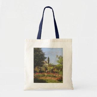 Flowering Garden at Sainte Adresse by Claude Monet