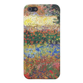 FLowering Garden, Vincent Van Gogh iPhone 5 Cases