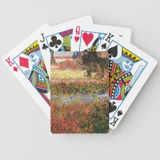 Flowering Garden,Vincent van Gogh. Bicycle Poker Cards