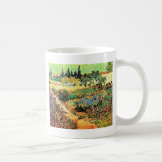 Flowering Garden with Path, Vincent van Gogh Coffee Mugs