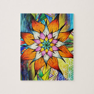 Flowering Life Jigsaw Puzzle