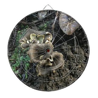 Flowering Mushrooms Dartboard