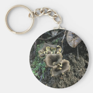 Flowering Mushrooms Key Ring