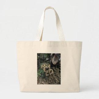 Flowering Mushrooms Large Tote Bag
