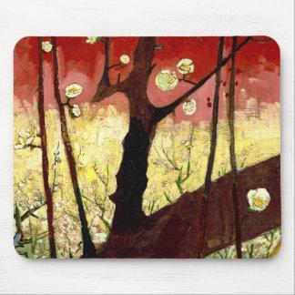 Flowering Plum Tree after Hiroshige by Van Gogh Mousepads