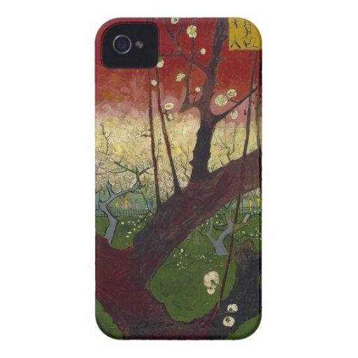 Flowering plum tree BlackBerry Bold Case