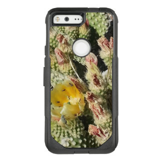 Flowering Prickly Pear Cactus with Bugs OtterBox Commuter Google Pixel Case