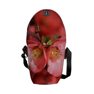 Flowering Quince - Small Bag Courier Bag