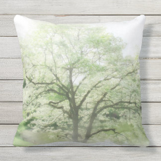 Flowering Tree Outdoor Cushion