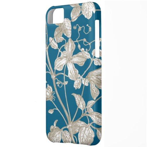Flowering Vine Botanical iPhone 5C Covers