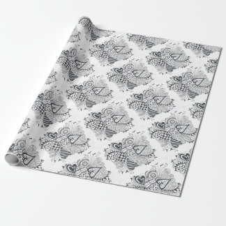 FlowerofHearts Wrapping Paper