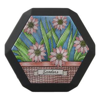 Flowerpot Black Bluetooth Speaker