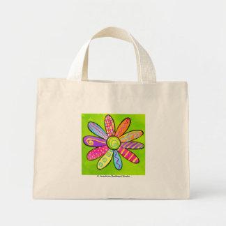 FlowerPower! Mini Tote Bag