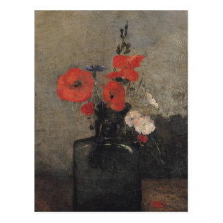 Flowers, 1857 postcard