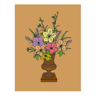 Flowers 1 postcard