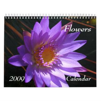 Flowers 2009 Calendar