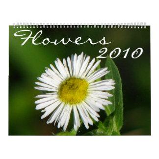 Flowers 2010 wall calendar
