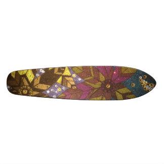 Flowers 20 Cm Skateboard Deck