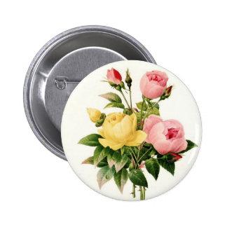 Flowers 6 Cm Round Badge
