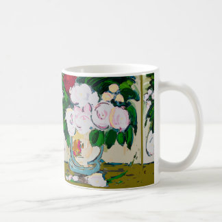 Flowers Abstract Coffee Mug