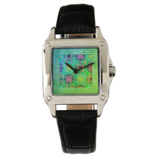 Flowers Abstract Watch