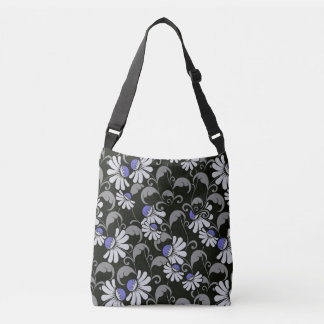 flowers All-Over-Print Cross Body Bag