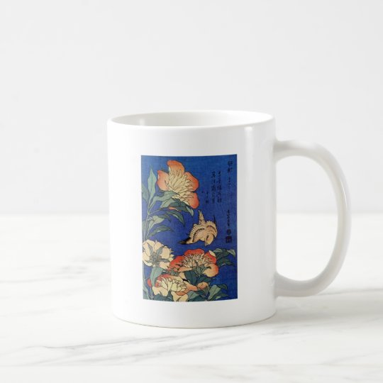 Flowers and a Bird Coffee Mug
