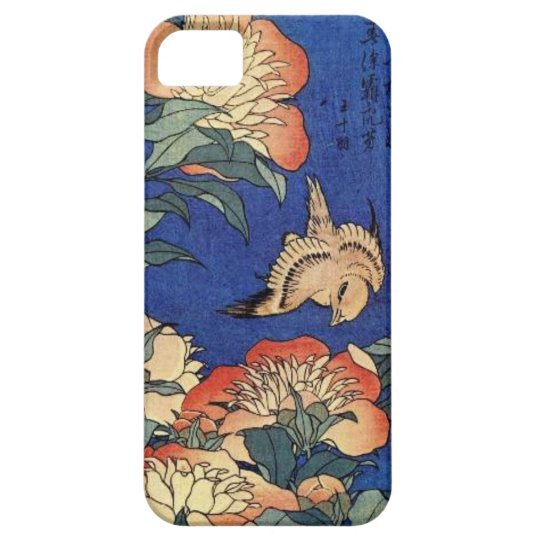 Flowers and a Bird iPhone 5 Case