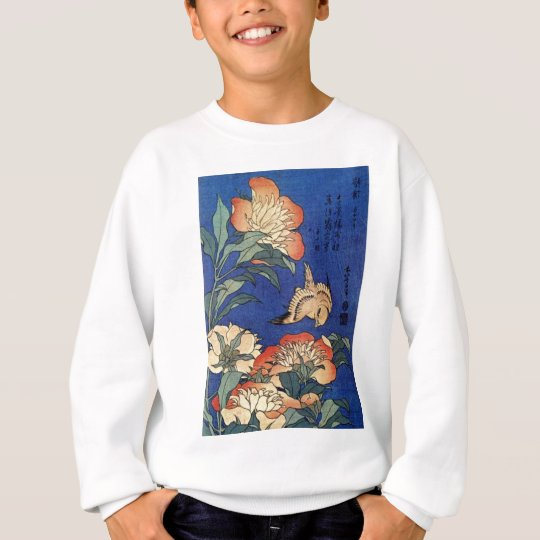 Flowers and a Bird Sweatshirt