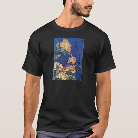 Flowers and a Bird T-Shirt