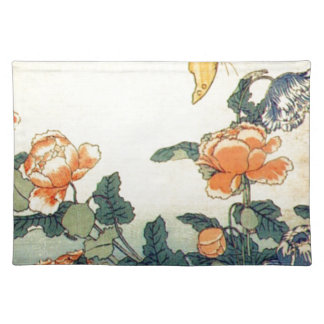 Flowers and a Butterfly Placemat